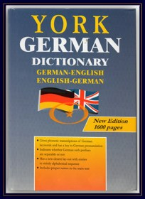 York bilingual German English Dictionary Collins
